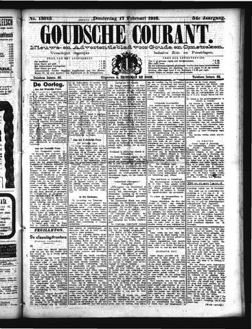 Goudsche Courant 1916-02-17
