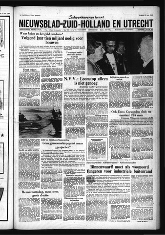 Schoonhovensche Courant 1966-05-20