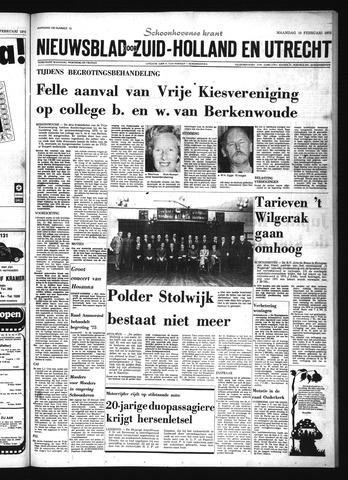Schoonhovensche Courant 1975-02-10