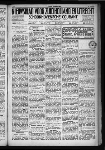 Schoonhovensche Courant 1930-08-22