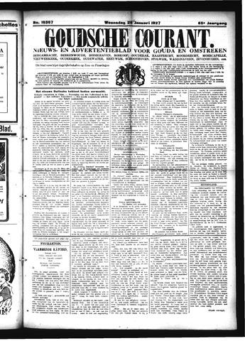 Goudsche Courant 1927-01-26