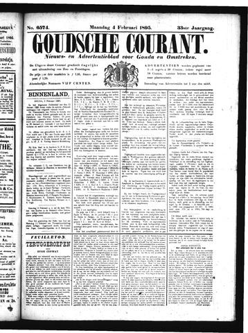 Goudsche Courant 1895-02-04