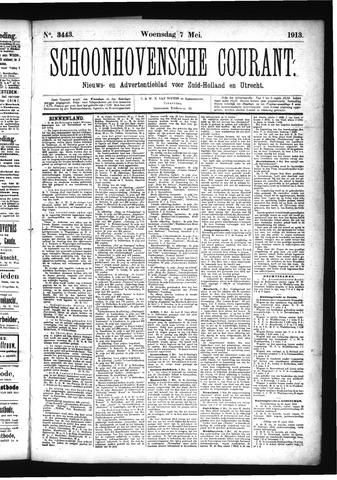 Schoonhovensche Courant 1913-05-07