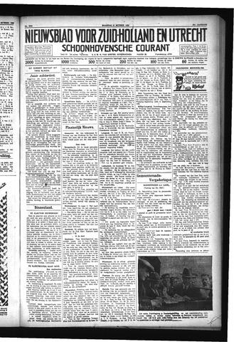 Schoonhovensche Courant 1929-10-21