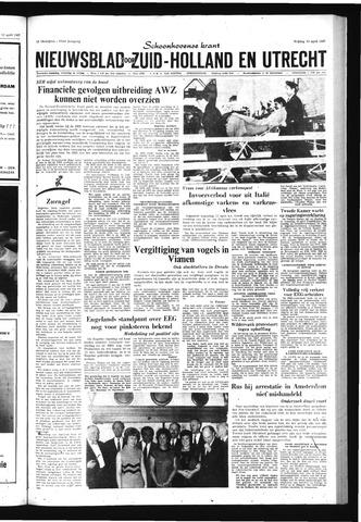 Schoonhovensche Courant 1967-04-14