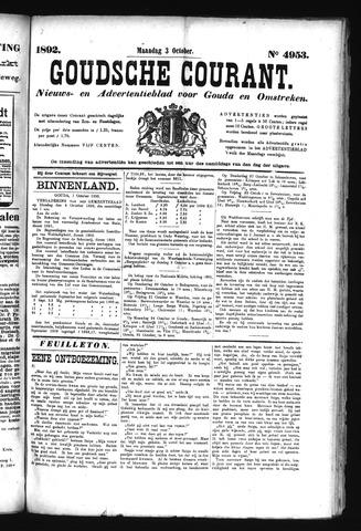 Goudsche Courant 1892-10-03