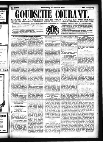 Goudsche Courant 1925-01-14