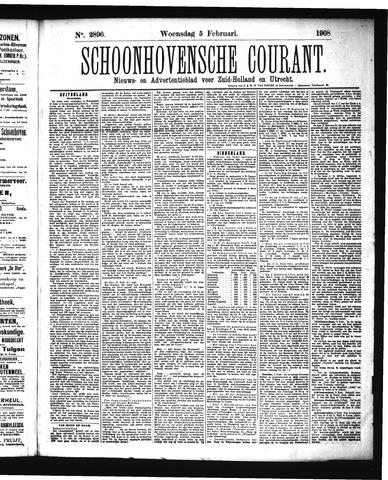 Schoonhovensche Courant 1908-02-05