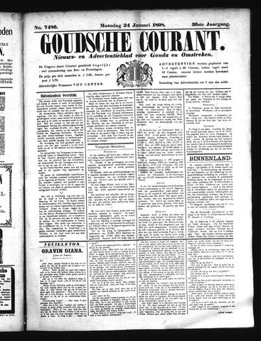 Goudsche Courant 1898-01-24