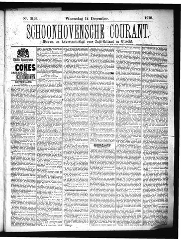 Schoonhovensche Courant 1910-12-14