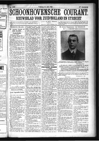 Schoonhovensche Courant 1925-07-31