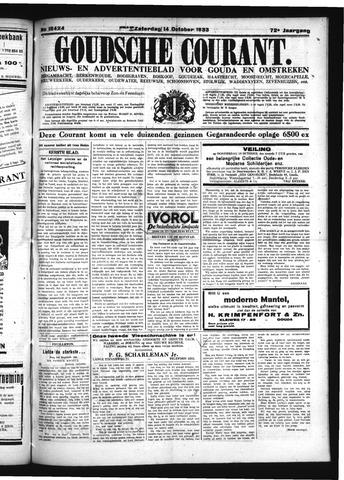 Goudsche Courant 1933-10-14