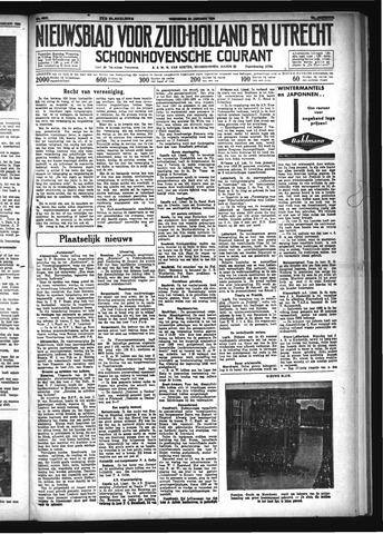 Schoonhovensche Courant 1934-01-24