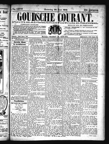 Goudsche Courant 1919-06-28