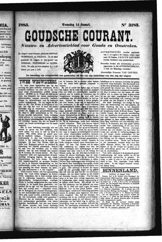 Goudsche Courant 1885-01-14