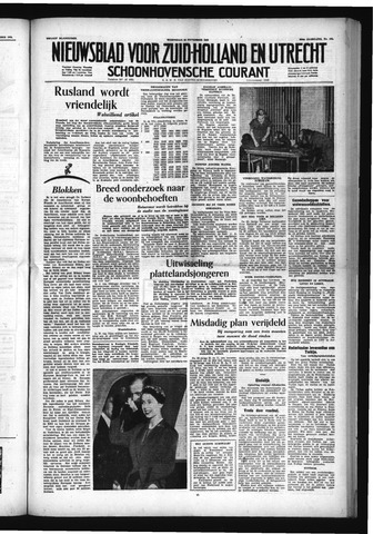Schoonhovensche Courant 1953-11-25