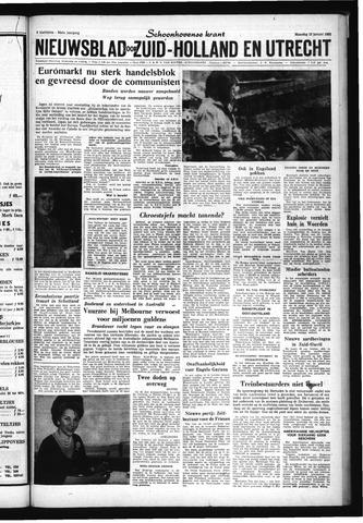 Schoonhovensche Courant 1962-01-15