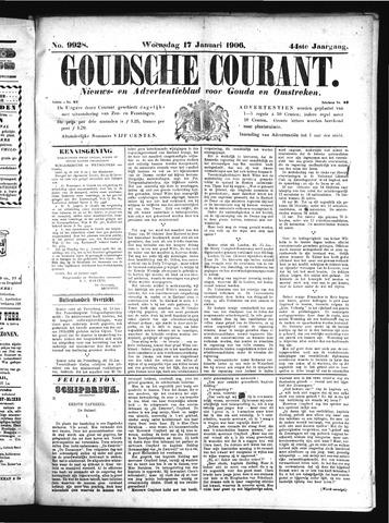 Goudsche Courant 1906-01-17