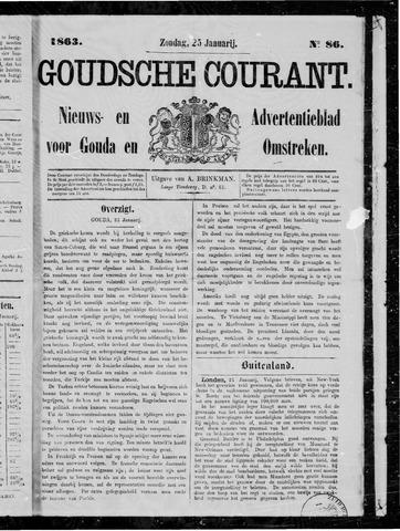Goudsche Courant 1863-01-25