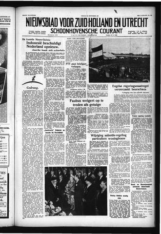Schoonhovensche Courant 1957-09-20