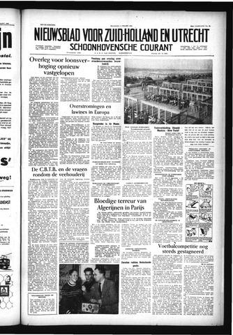 Schoonhovensche Courant 1956-03-05