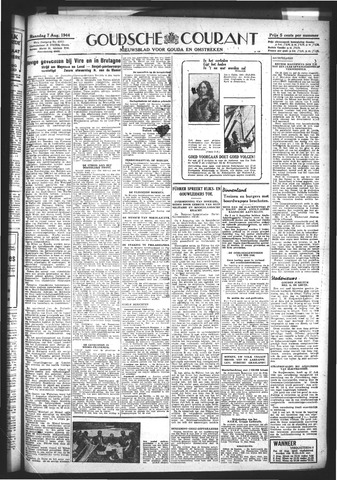 Goudsche Courant 1944-08-07