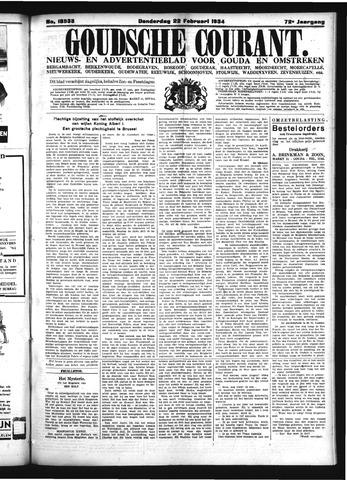 Goudsche Courant 1934-02-22