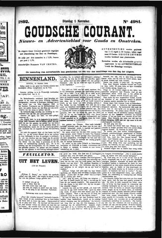 Goudsche Courant 1892-11-01