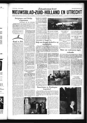 Schoonhovensche Courant 1959-09-30
