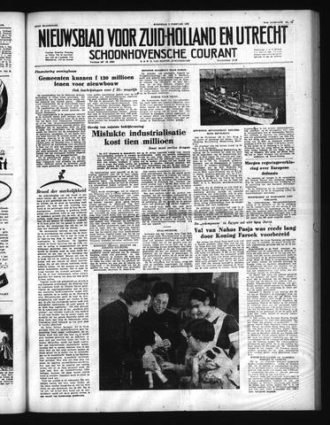 Schoonhovensche Courant 1952-02-06