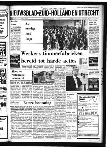Schoonhovensche Courant 1977-02-25
