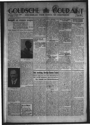 Goudsche Courant 1940-10-01