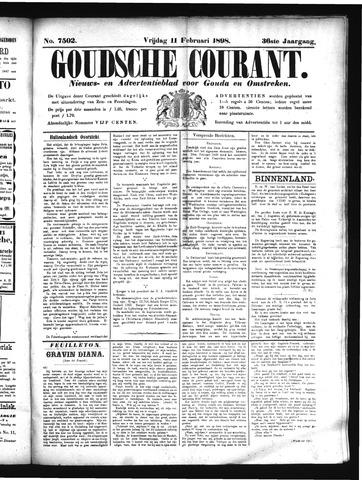 Goudsche Courant 1898-02-11