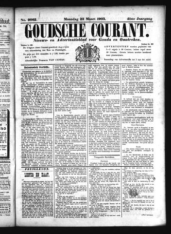 Goudsche Courant 1903-03-23