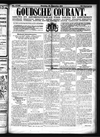 Goudsche Courant 1931-08-25