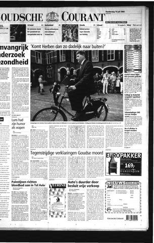 Goudsche Courant 2002-07-18