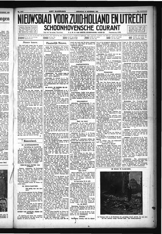 Schoonhovensche Courant 1932-11-16