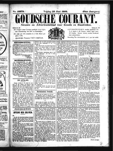 Goudsche Courant 1909-06-25