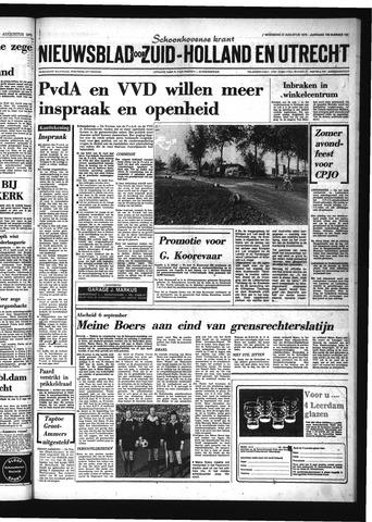 Schoonhovensche Courant 1975-08-27