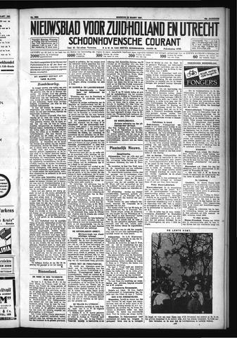 Schoonhovensche Courant 1931-03-23