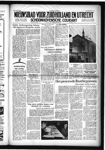 Schoonhovensche Courant 1954-03-24