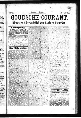 Goudsche Courant 1874-10-11