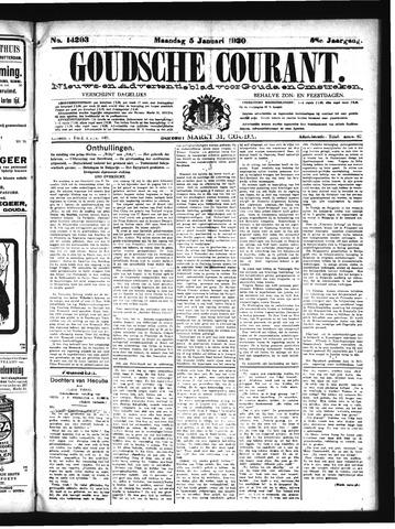 Goudsche Courant 1920-01-05