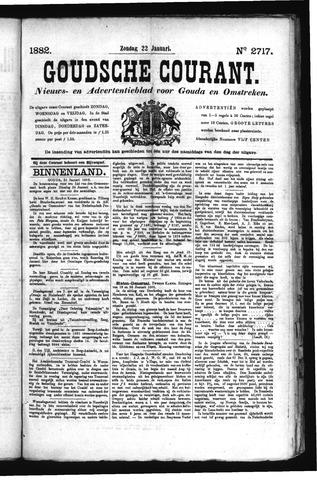 Goudsche Courant 1882-01-22