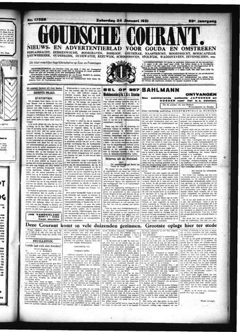 Goudsche Courant 1931-01-24