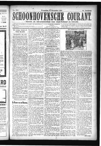 Schoonhovensche Courant 1923-11-28