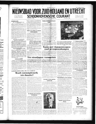 Schoonhovensche Courant 1952-05-26