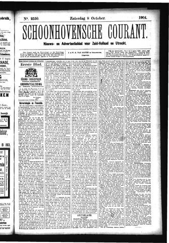 Schoonhovensche Courant 1904-10-08