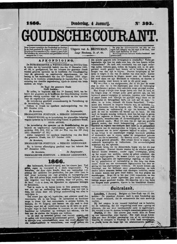 Goudsche Courant 1866