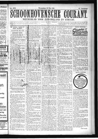 Schoonhovensche Courant 1925-05-20